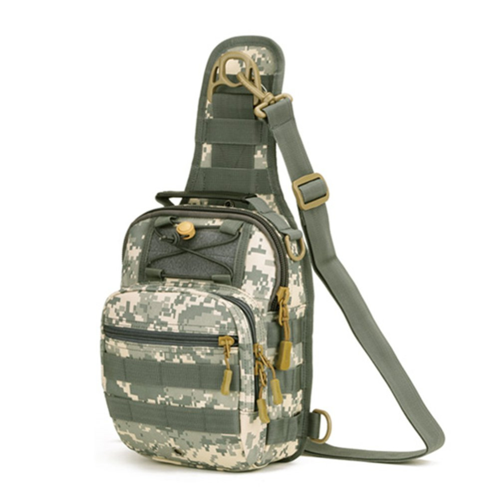 Outdoor Military Tactical Waist Pack Shoulder Bag Molle Camping Hiking Pouch Bags New Arrival(China (Mainland))