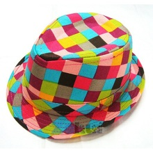 Fashion Jazz Toddler Kids Baby Boy Girl Cap Cool Photography Fedora Hat Top 11 Colors(China (Mainland))