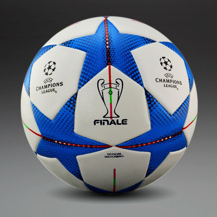 A+++ quality 2012-2013- 2014-2015 Champions league soccer ball seamless PU granules slip-resistant football Size 5 Football Ball(China (Mainland))