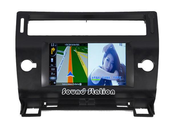 For Citroen C4 C-Triomphe C-Quatre DVD GPS Radio Media Device, For Citroen C4 C-Triomphe C-Quatre Car DVD Radio GPS Navigation(China (Mainland))