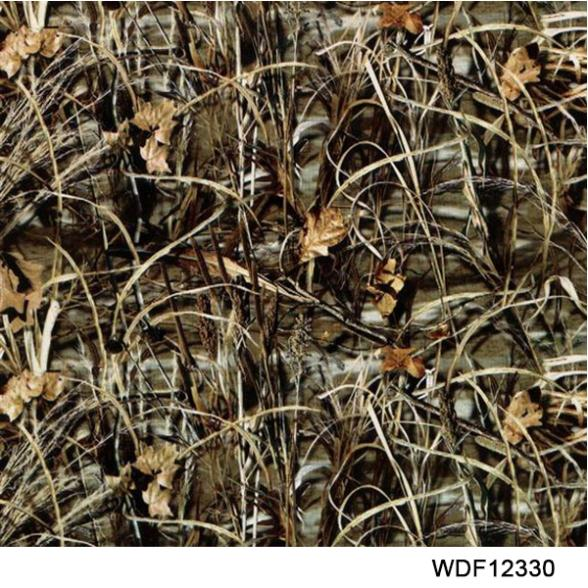 12330 Decorative Material 20 square Width 1m camouflage water print film(China (Mainland))