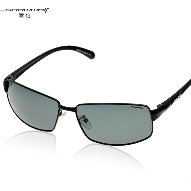 The left bank of glasses polarized sun glasses male driving mirror sunglasses cool sw403