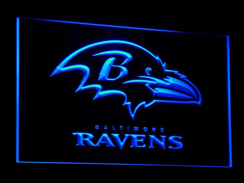 b064 Baltimore Ravens Super Bowl LED Neon Sign with On/Off Switch 7 Colors to choose(China (Mainland))