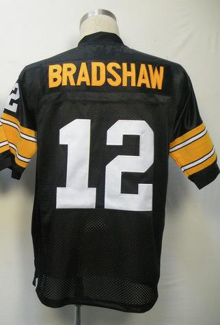 Hot #12 Terry Bradshaw Jersey,Throwback Football Jersey,Sport Jersey,Size M--XXXL,Accept Mix Order
