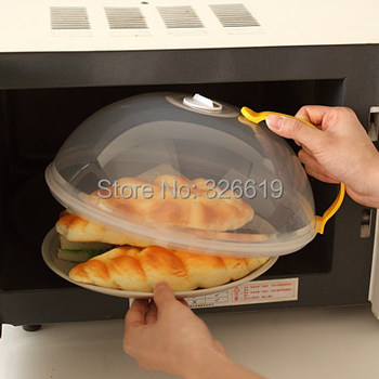 Free shipping food cover in microwave oven oil cap heated sealed plastic cover dish dishes dust cover food cover