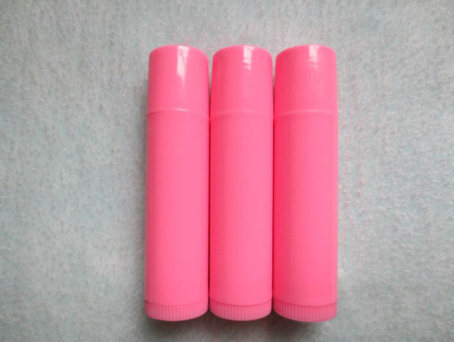 New 2014 Free 200pc/lot Shipping solid Pink Lip Balm Tube,DIy Cosmetic Lipstick Tube,Plastic Cosmetic Tube Packaging HZ06<br><br>Aliexpress