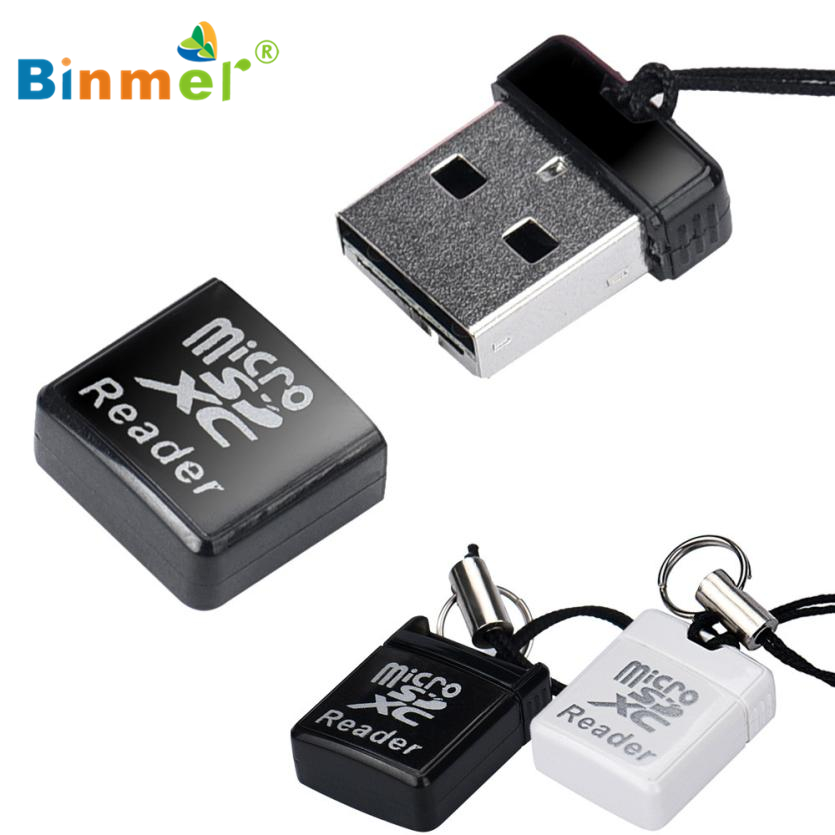 Binmer MINI Super Speed USB 2.0 Micro SD/SDXC TF Card Reader Adapter TOP QUALITY APR 6(China (Mainland))