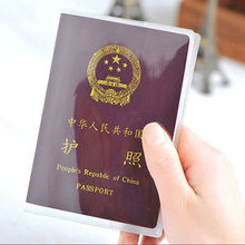 Silicone transparent waterproof dirt ID Card holders passport cover business card credit card bank card holders Storage Bags(China (Mainland))