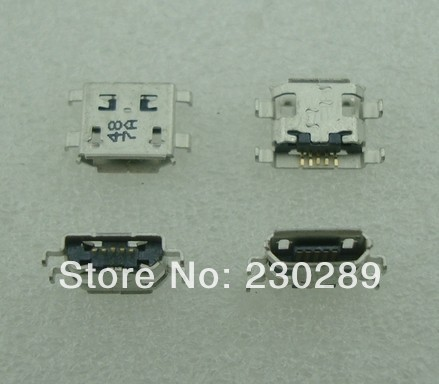 1micro 5pin USB connector charging port ZTE V880 U880 Lenovo A690 A690T S686 S680 S880 mobile - Shenzhen Hualiyuan International Limited store