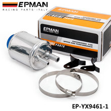 EPMAN  Fuel Cell Racing Power Steering Tank Pump Aluminum Breather Tank With Brackets EP-YX9461-1(China (Mainland))