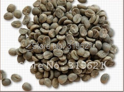 1000g Green coffee beans China YUN NAN small coffee beans Free shipping