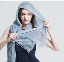 2014 Fashion New Style Solid Silk Modal Scarf For Women 200*130cm Female Hot Sale Brand New Design Modal Scarf For Autumn Winter(China (Mainland))