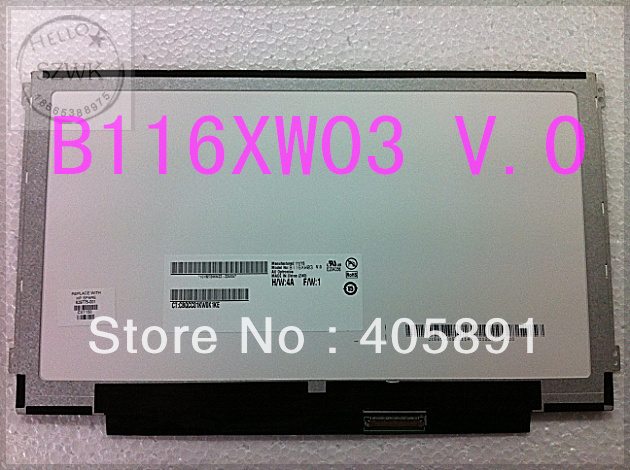 NEW 11.6 laptop lcd screen B116XW03 V.0, LP116WH2-TLN1, N116BGE-L41, CLAA116WA03A, LTN116AT02<br><br>Aliexpress
