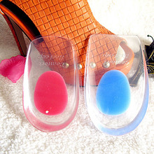 Silicone Gel Comfort Heel Cups Pads/Insoles/Inserts Protect Feet For Men/Women HB88(China (Mainland))