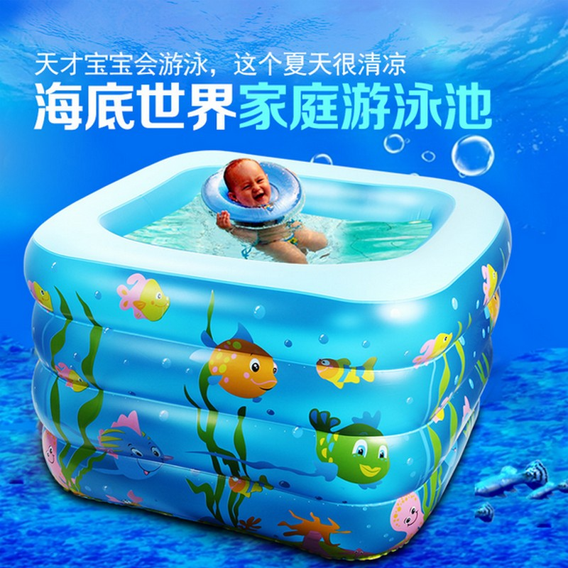 Best selling 110*110*70cm kid inflatable pool baby swimming pool inflatable water sport inflatable pool for summer free shipping(China (Mainland))