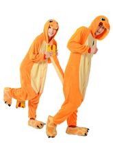 New Burn Fire with cute Char mander Couple Winter Kigu Full Sleeve Hoodie Jacket Pajamas Pyjamas