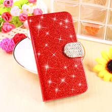 Buy Glitter Bling Rhinestone Cell Phone Cases Alcatel OneTouch Pop Star 3G 5022 5.0 inch OT5022 Housing Covers PU Leather Shell for $3.28 in AliExpress store