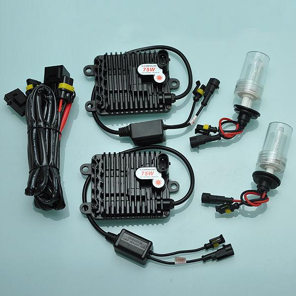 Здесь можно купить  75W 9005 6000K HID Xenon Slim Digital Ballast Conversion Bulbs Kit Bright New  AC388]  Автомобили и Мотоциклы