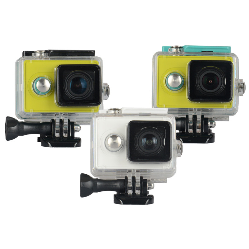KingMa Original Xiaomi Yi Camera Waterproof Case Mi Yi 60M Diving Sports Waterproof Box Yi Action