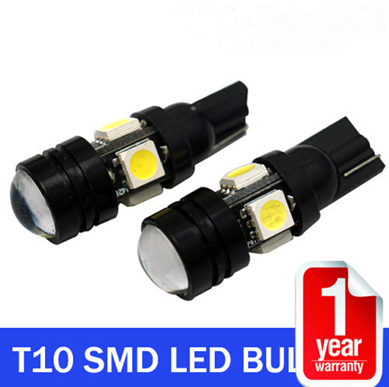 1X High brightness Car Styling T10 LED W5W 196 168 Car LED Auto Lamp 12V 20W Light bulbs with Projector Lens for Tiguan Packing(China (Mainland))