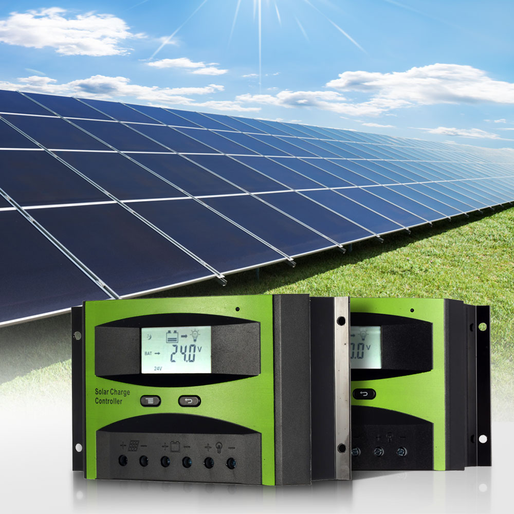 30A 12V24V mini Solar Charge Controller for solar battery panels PWM Charging Overload protection for mppt Solar Off-grid System(China (Mainland))