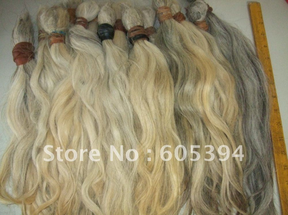 grey  hair /Indian virgin braids /gray  hair extension /490g/lot   any length can avaliable .many in stock<br><br>Aliexpress