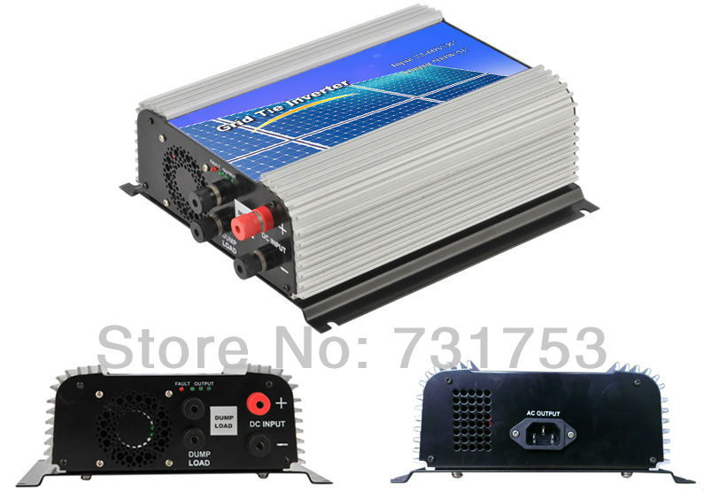 600W Wind on Grid inverter For 48V (DC Wind Turbine) ,22-60VDC,90-260VAC ,50Hz/60Hz,No need controller and battery,Free ship(China (Mainland))