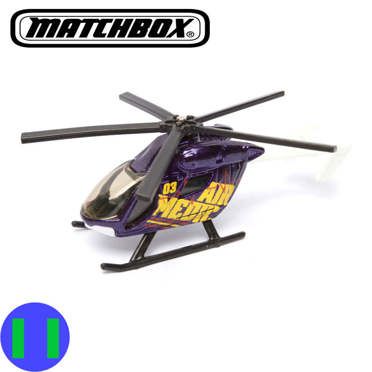 The new 2016 copyrighted matchbox Deep purple helicopter toy model(China (Mainland))