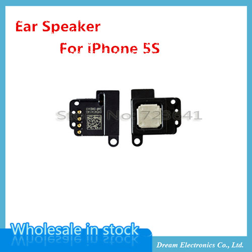 20pcs/lot New Earpiece Sound Listening Ear Speaker for iPhone 5S Replacement Part Flex Cable Wholesale free shipping(China (Mainland))