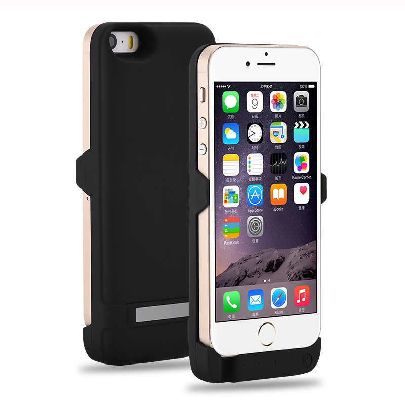 4200/8000Mah Power Bank Battery Charge Cover Case For iPhone 5 5S SE 6 6S Plus External Battery Pack Phone Charger Case(China (Mainland))