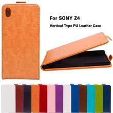 Buy PU Leather Vertical Flip Phone Cases Sony Xperia Z3+ E6553 Z3 Plus dual E6533 Sony Z4 5.2 inch Cases Covers Shell Housing for $3.73 in AliExpress store