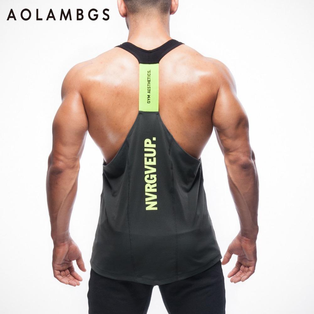 Gymshark تانك القمم فانيلة الرجال الرياضية رياضة كمال الاجسام اللياقة التدريب التجفيف السريع بلا أكمام قميص(China (Mainland))
