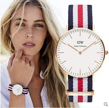 Hot Brand Luxury Daniel Wellington Watch DW Watches women Lady nylon strap Sport Quartz Clock Reloj
