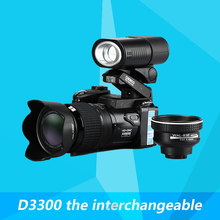 D3300 the interchangeable telephoto macro lens stage spotlights ordinary digital camera HD camera(China (Mainland))