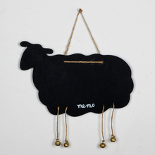 sheep shape Wooden Duplex magnetic blackboard Home Decoration message board(China (Mainland))