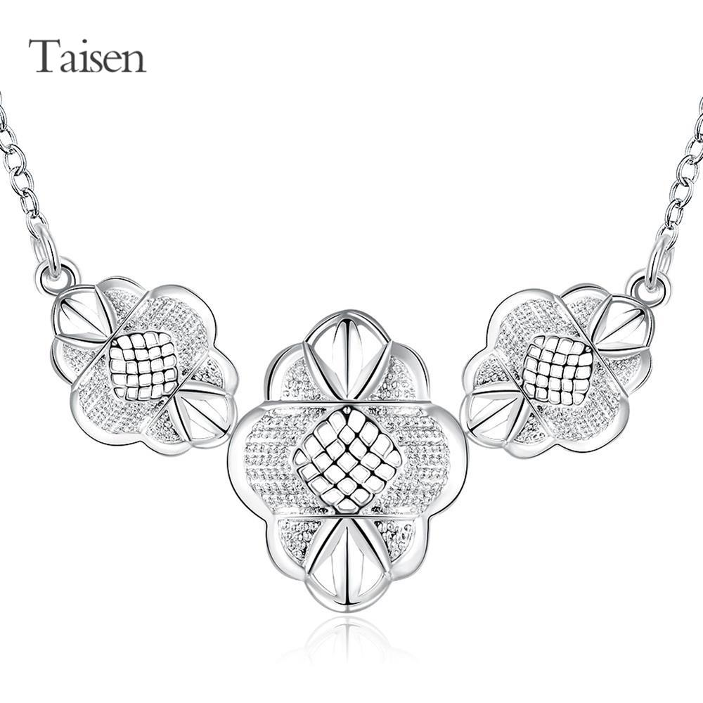 flower necklace 2016 necklace women collares charms gifts cute fashion pendant women's handbag dresses top jewelry findings(China (Mainland))