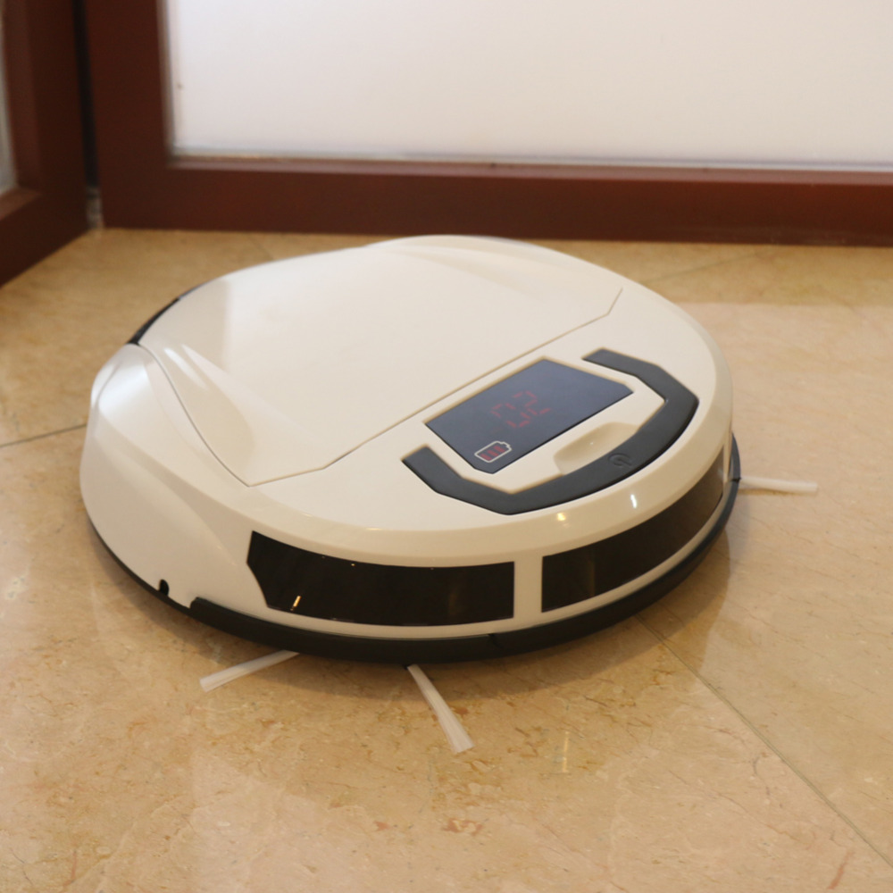 High Power Robot Vacuum Cleaner New Intelligent Robot Vacuum Cleaner Floor Cleaning Robot(China (Mainland))