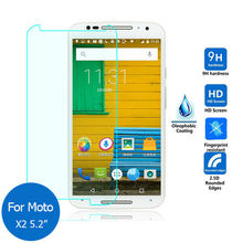 Safety Tempered Protective Glass Film 0.3mm Motorola Moto X 2nd X+1 X2 3605 Screen Protector mobile phone 5.2 inch - convenience 365days store