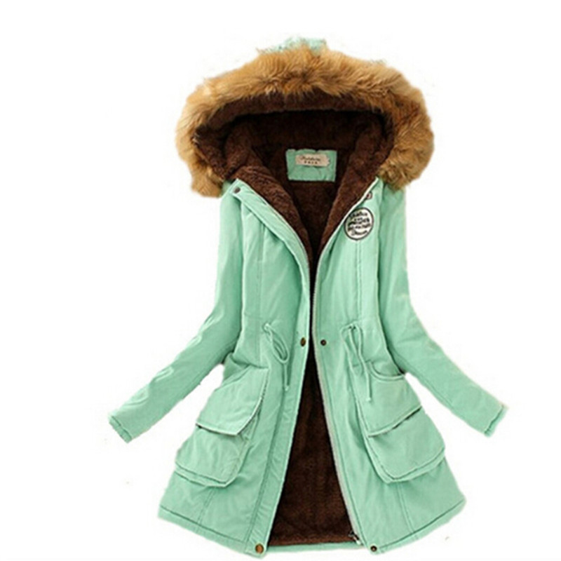 2016 Womens Winter Down Jackets and Coats Women Thicken Warm Winter Fur Collar Plus Size Parkas for Women Long Down Parka(China (Mainland))