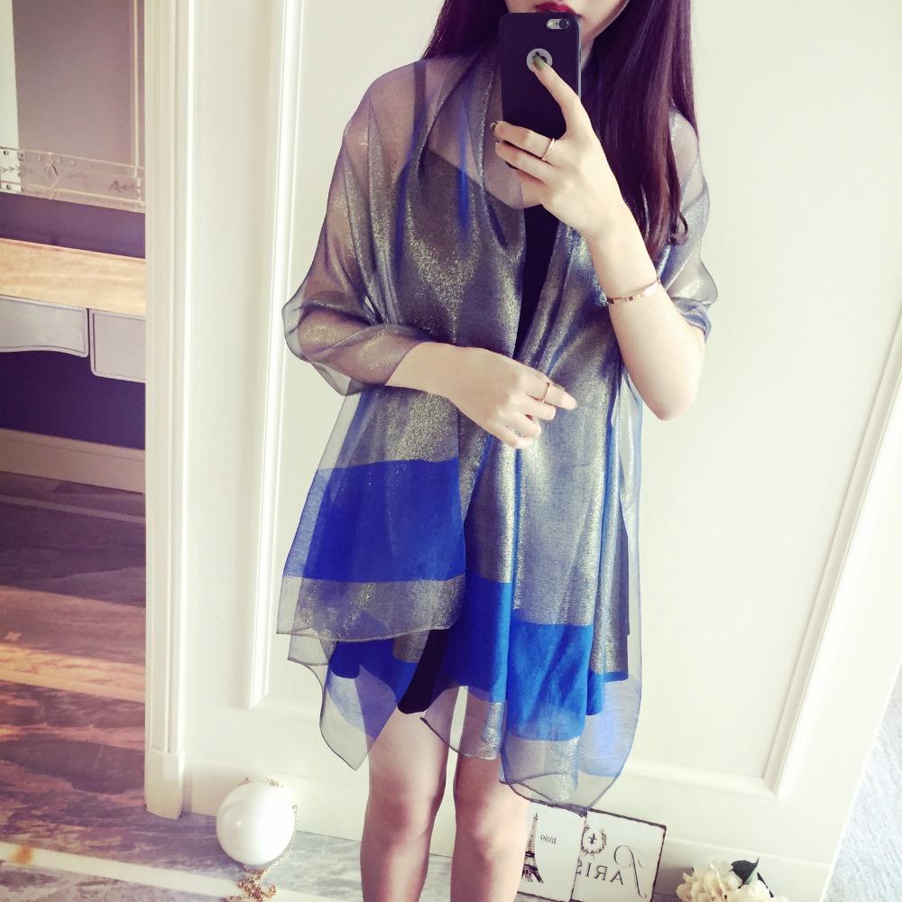 2016 spring and summer new style women pure silk scarf high quality sunblock bufandas echarpes foulards femme fashion echarpe(China (Mainland))