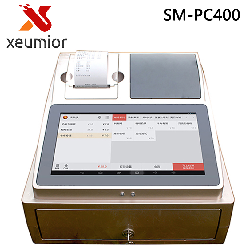 SM-PC400 Electronic Cash Register Cashier Register/ECR POS Machine with Software for Retail store/Restaurant/Coffee Shop(China (Mainland))