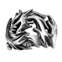 Дизайн животных Кольцо Спортивный Из Нержавеющей Стали Серебро Ювелирные Изделия Для Женщин И Мужчин Аксессуары(China (Mainland))