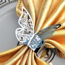 New Arrival 12pcs Silver Wedding Party Decoration Napkin Rings Holders Porta Guardanapo(China (Mainland))