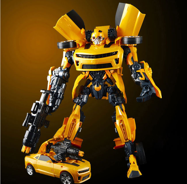 Transformation Ultimate Robots Bumblebee Sound Light Without Original Box Toys Classic Robot Car Model Toy Action Figure - TOYTime Co., Ltd. store