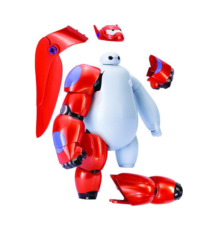Big Hero 6 baymax Robot Toys Transform Assemble Big Hero 6 Action Figure Robocar Toys Baymax Robot Dolls(China (Mainland))