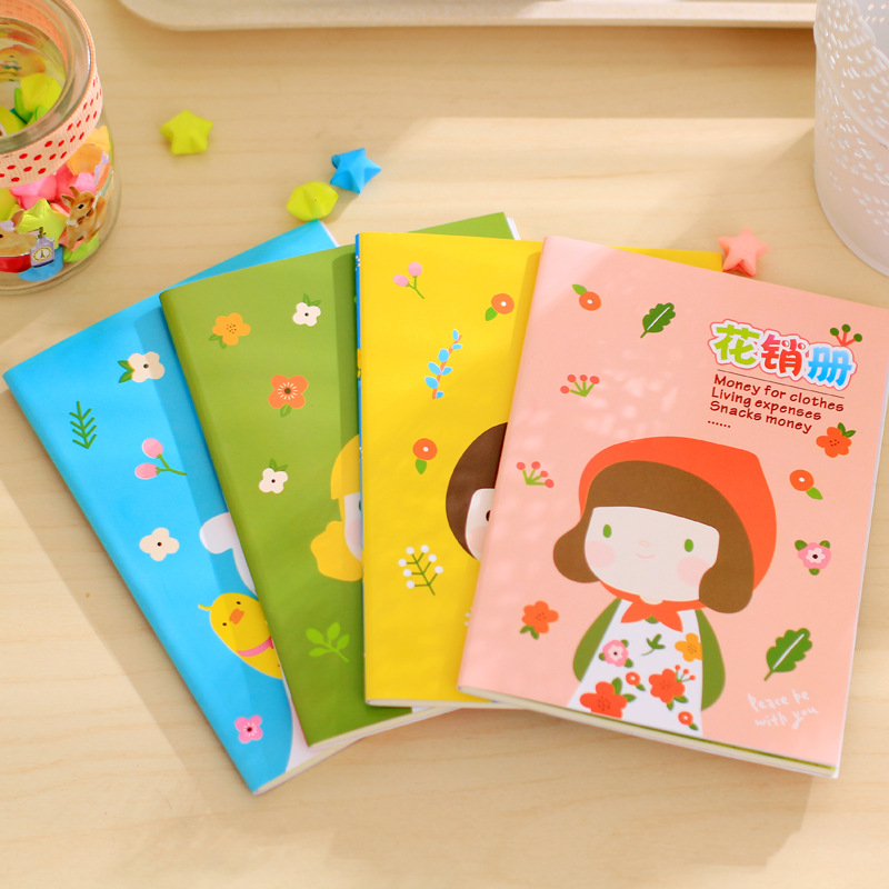 Cute Aprons girl Notepad Notepad Diary Book Exercise Book Escolar Papelaria School Office Supply(China (Mainland))