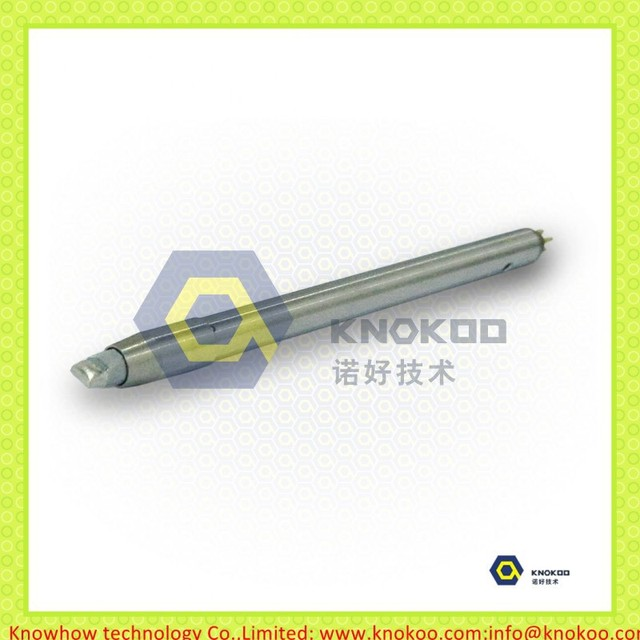 5 pieces/lot DC48V 101mm length with N2 sleeve Silvery Chromium Apollo Seiko DCN-50D soldering iron tips