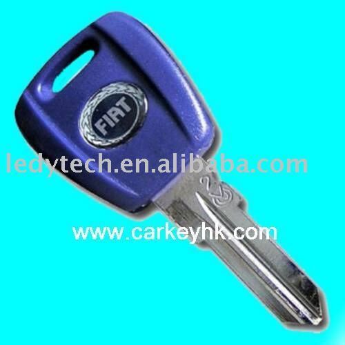 High quality Fiat transponder key with T5 glass chip