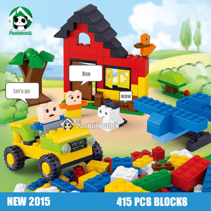 Building Blocks Toys 41Bricks Models & Toy Kids Educational Sluban Compatible lego Bricks - Pandadomik store