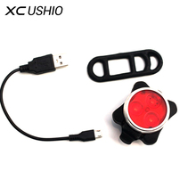 Buy Bicycle Light Rechargeable Waterproof Bike Front Lamp Cycling Accessorie Tail Lights Bright Led USB Charging Safe Warning Light for $5.99 in AliExpress store